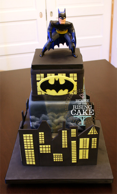 Batman Cake I Wish I Had A Chance To Reshoot This But
