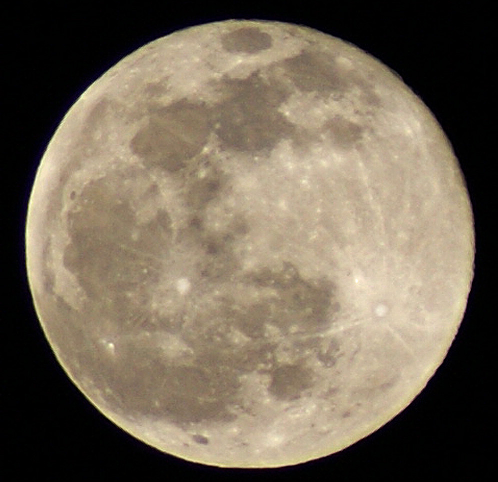 by definition a blue moon wow surprise this one made