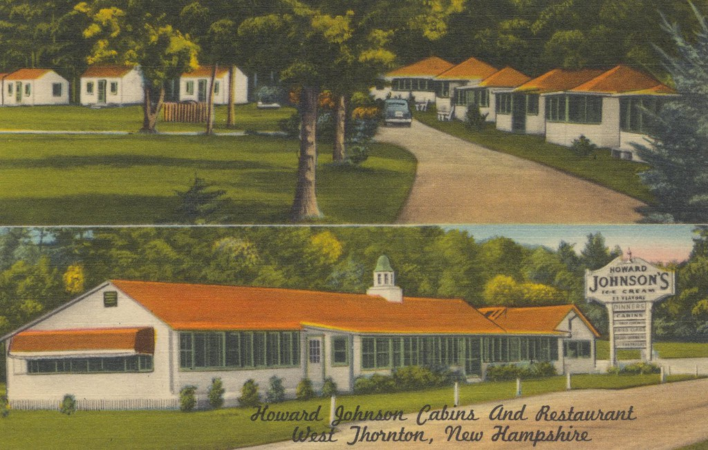 Howard Johnson Cabins and Restaurant - West Thornton, New Hampshire