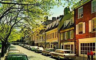 Palmer Square West, Princeton, New Jersey, 1960s | by aldenjewell