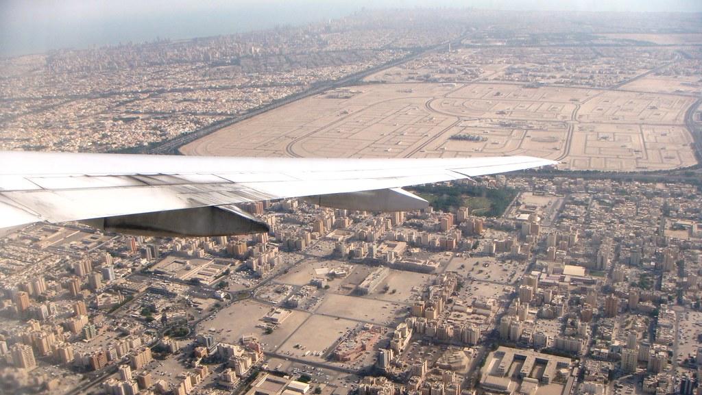 Kuwait over Khaitan Kuwait from the window of a BA 777 Flickr