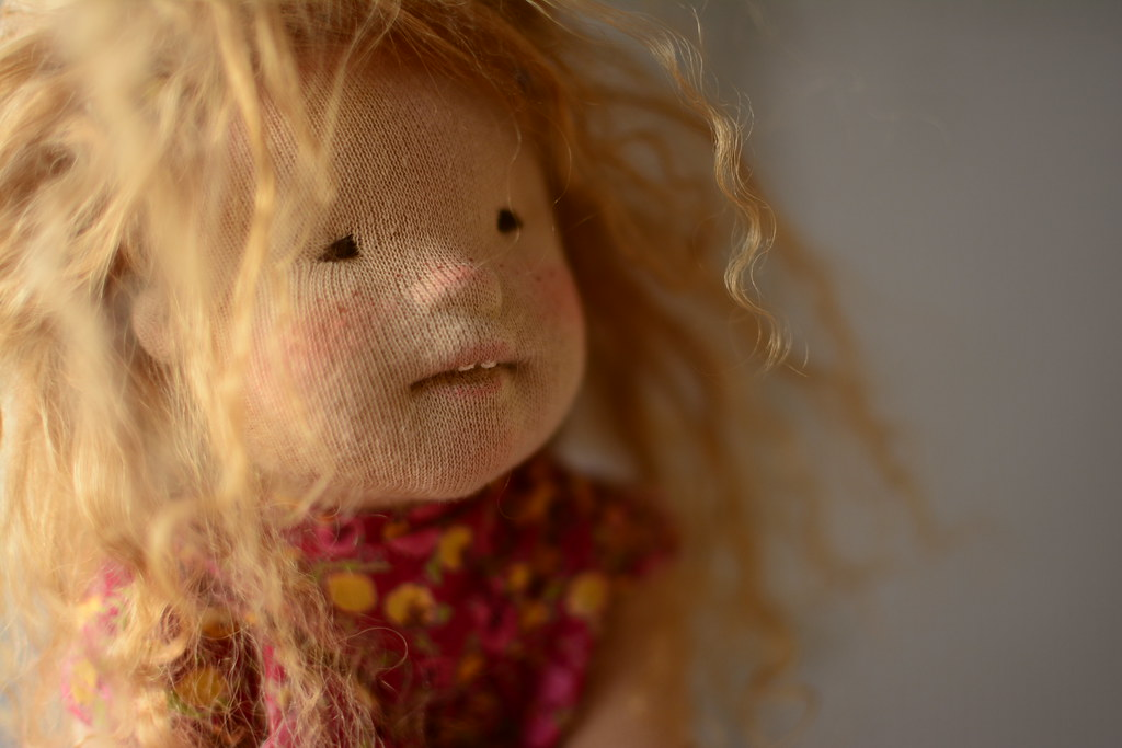 Sunny OOAK doll by MariAs Nature TOYS