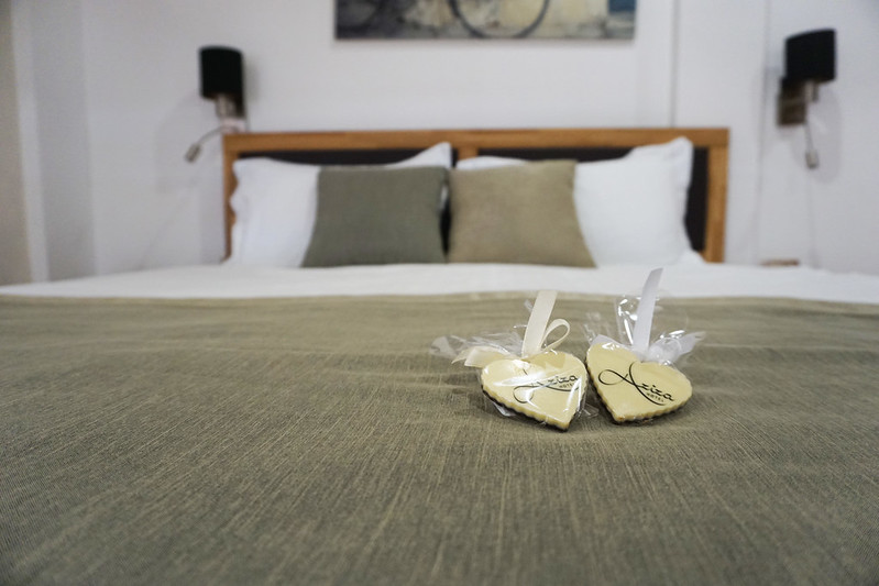 Hotel Aziza bed