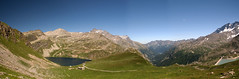 View of Three Lakes - Agnel, Ceresole, Serrù - Piemonte - Italy