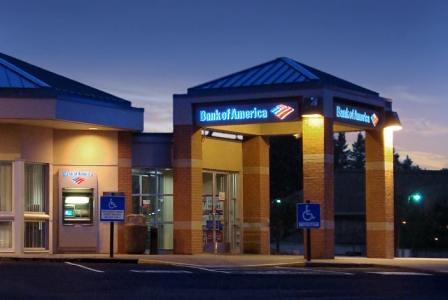 bank branding exterior bank upgrade bank of america