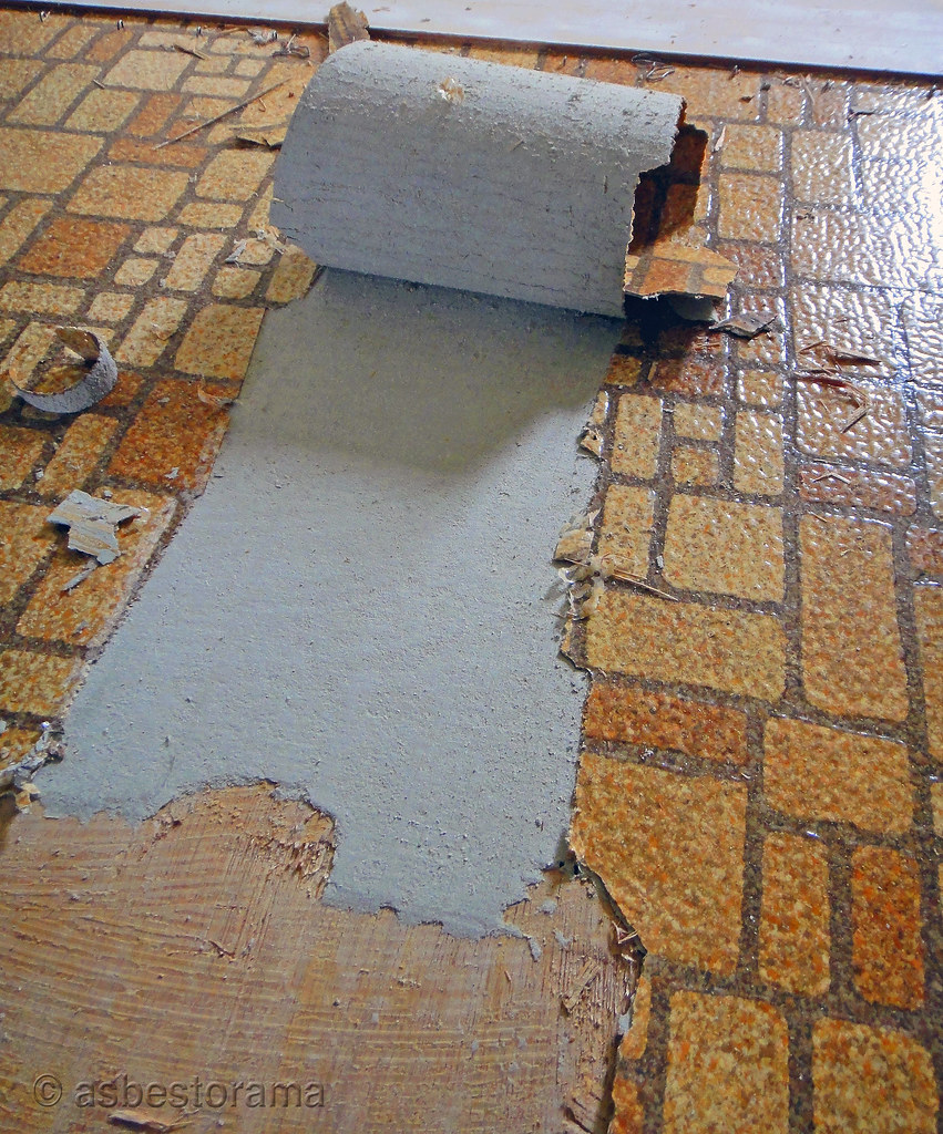 Asbestos floor tile removal do it yourself