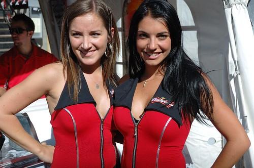 Budweiser (Bud) Duo Girls | Nascar Nationwide Weekend 2010