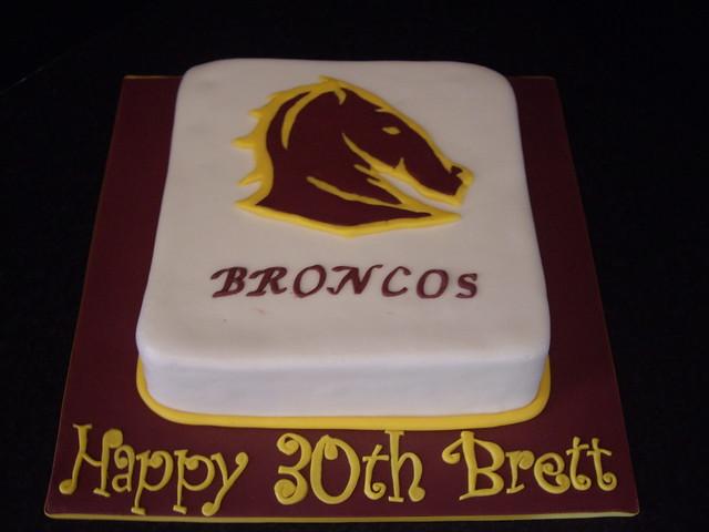 Brisbane Broncos Cake Flickr Photo Sharing
