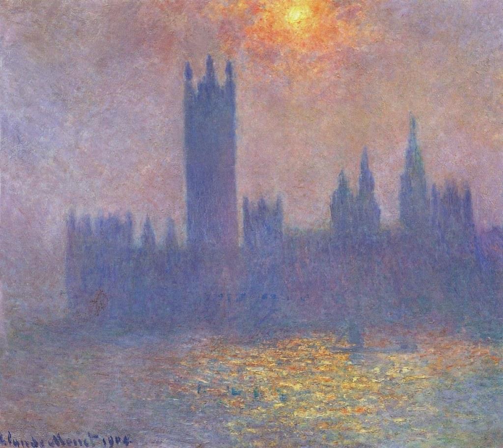 """Image result""""Waterloo Bridge, soleil dans le brouillard"""" – 1899-1901"""