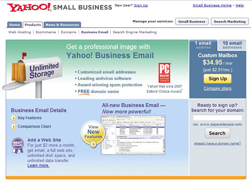 Yahoo Small Business Web Hosting | Yahoo Small Business Web