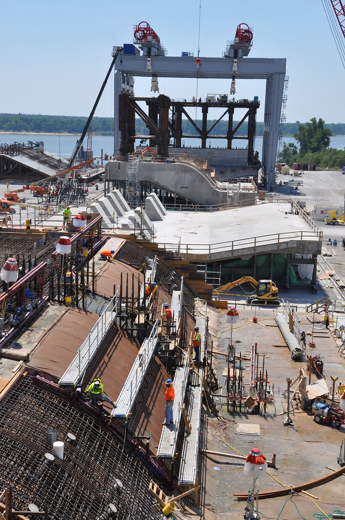 Work Continues At Olmsted Locks And Dam In The