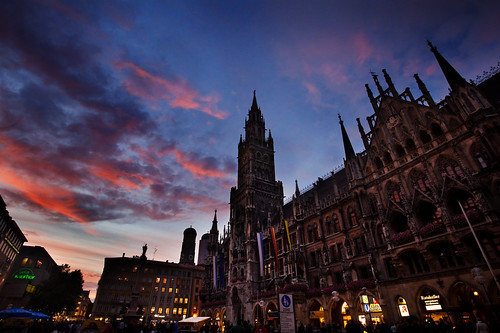 Marienplatz and the Neues Rathaus, Munich, Germany | by Jeff Eickhoff