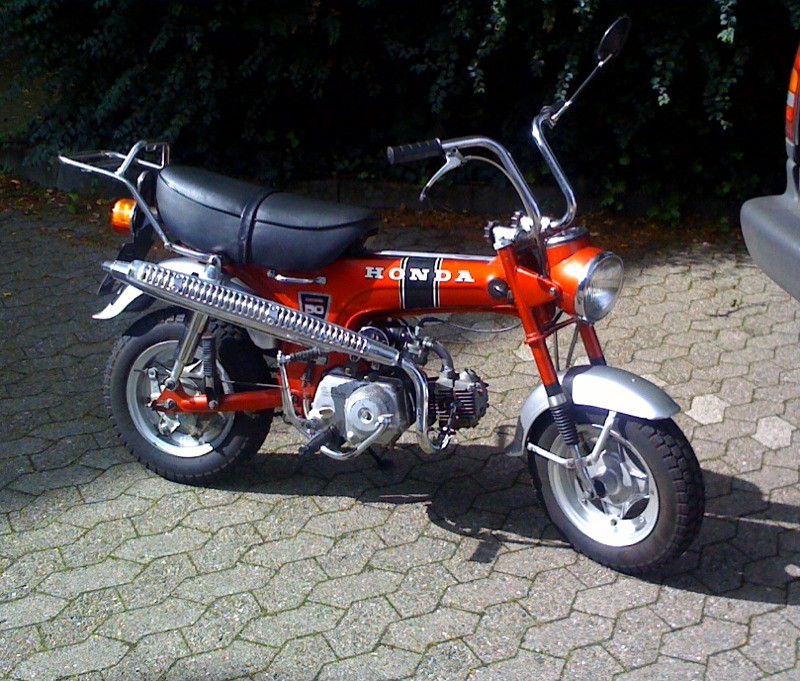 honda dax st 50 g bj 1974 honda dax in original zustand flickr. Black Bedroom Furniture Sets. Home Design Ideas