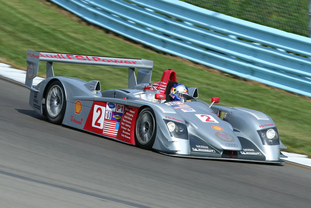 2005 Audi R8 Lmp 3 6l Turbo Travis Engen Jim Flickr