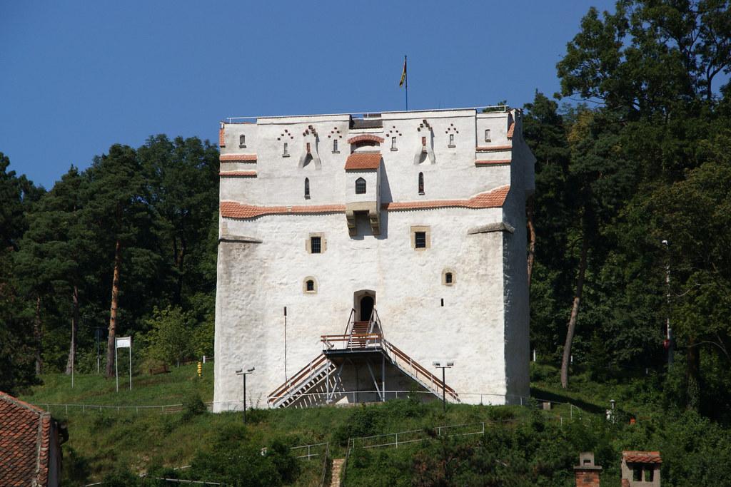 La torre bianca di Brasov