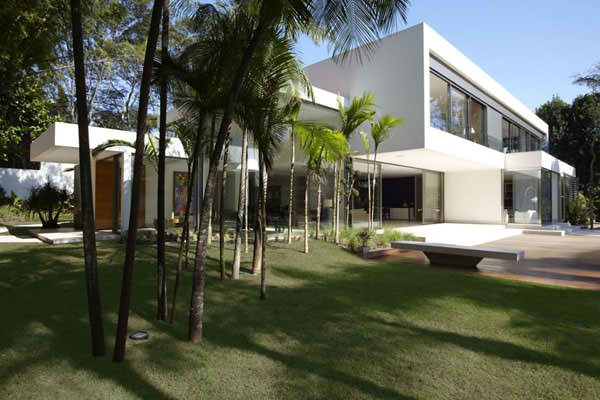 modern family house with exotic landscape modern family ho flickr rh flickr com