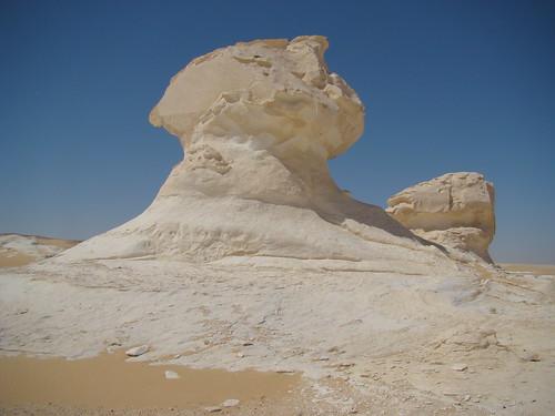 Roca fungiforme o en seta - White Desert (Egipto) - 03