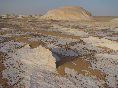 Crestas eólicas - White Desert (Egipto) - 02