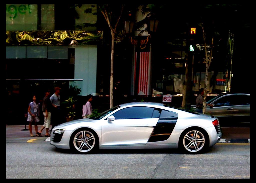 Iron Man S Car The Audi R8 Jalan Kia Peng Kuala Lumpur
