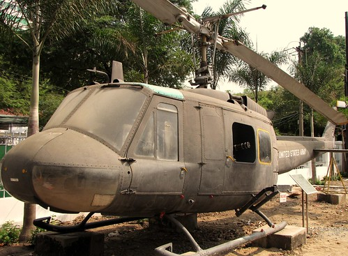 War Remnants Museum - UH-1H Huey Helicopter | by FollowOurFootsteps