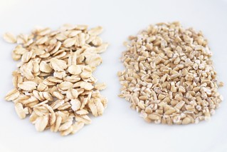 rolled vs. steel cut oats | by Stacy Spensley