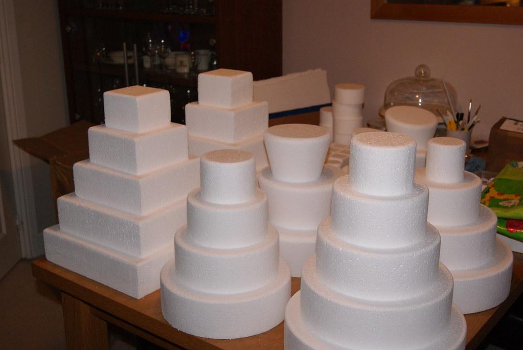 Styrofoam Cakes Weddings