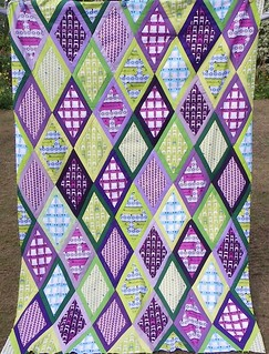 Tufted Tweets quilt | by Little Island Quilting
