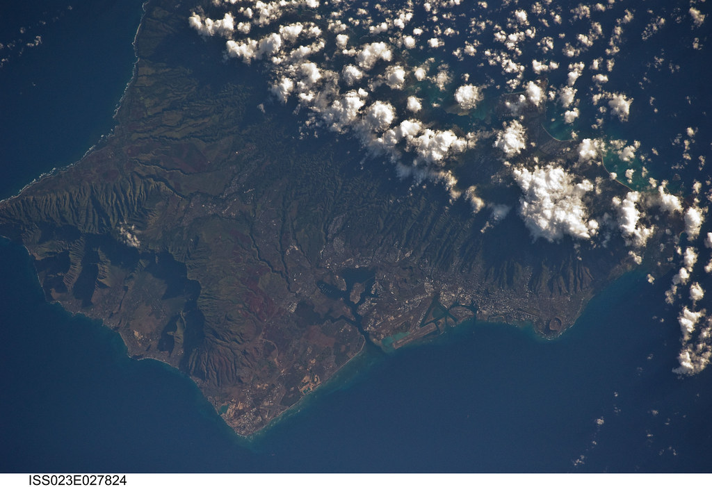 Oahu, Hawaii (NASA, International Space Station Science, 0