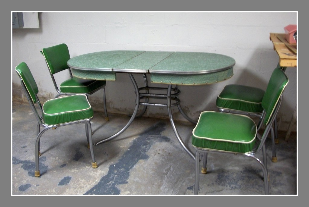 The Real Deal 1950 S Formica Table And Chairs Amp Antiques