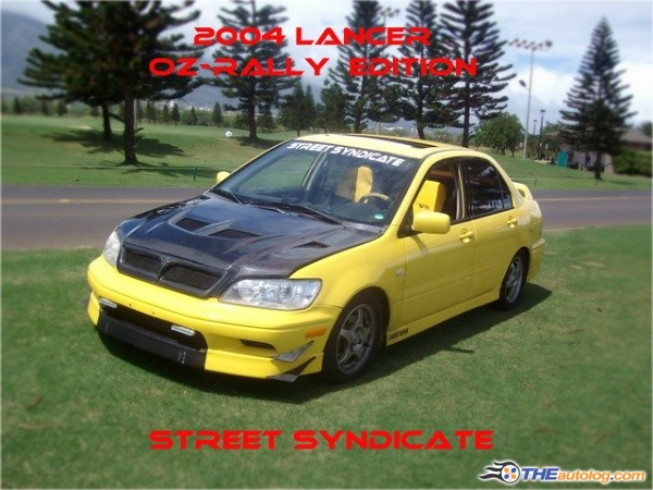 2003 mitsubishi lancer oz rally edition 5505 aiightden flickr. Black Bedroom Furniture Sets. Home Design Ideas