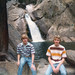 Fritz and Frank at a Waterfall