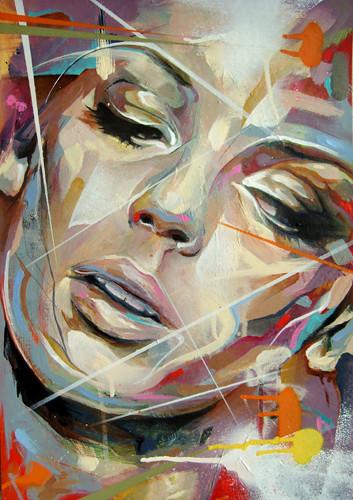 How To Acrylic Paint Portrait