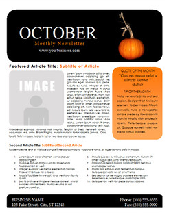 october newsletter template you can download this free oct flickr