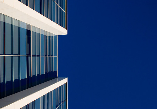 blue building study #1 | by booksin