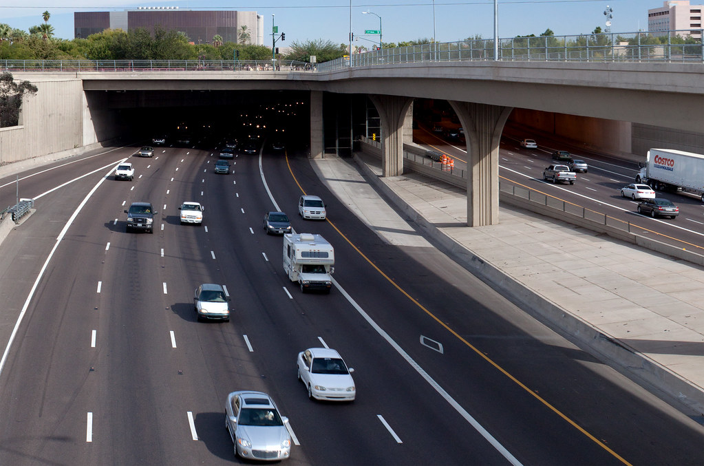What Is Hov Lane >> Interstate 10 - Papago Freeway Tunnel / Deck Park Tunnel (… | Flickr