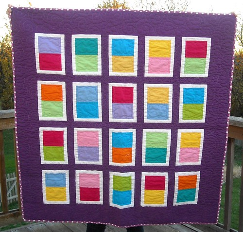 purple/bright charity quilt | by vickivictoria