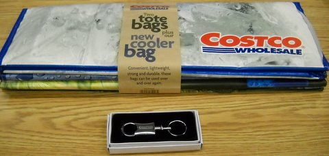 Costco Tote bags, Cooler Bag and Key Chain | by UW 2010 Silent Auction