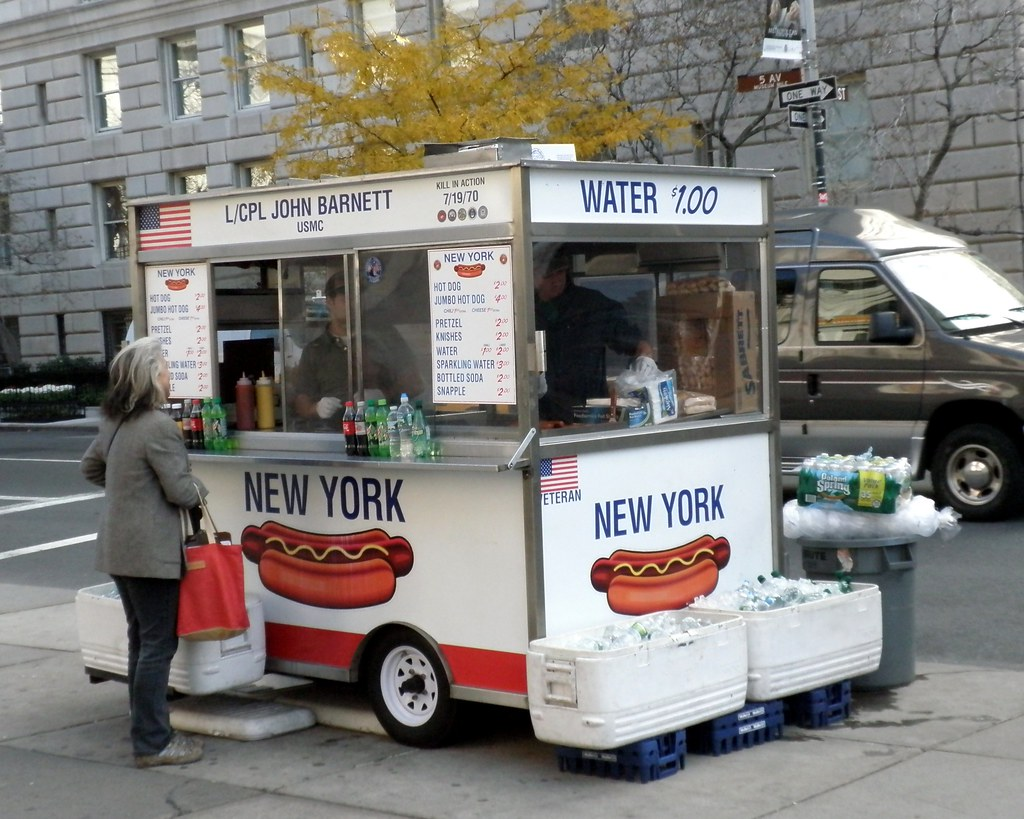 White Hot Dogs From New York