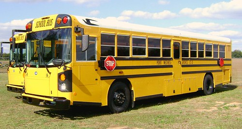 TEXAS BLUE BIRD BUS - PORT NECHES GROVES ISD | by Georgia Blue Bird