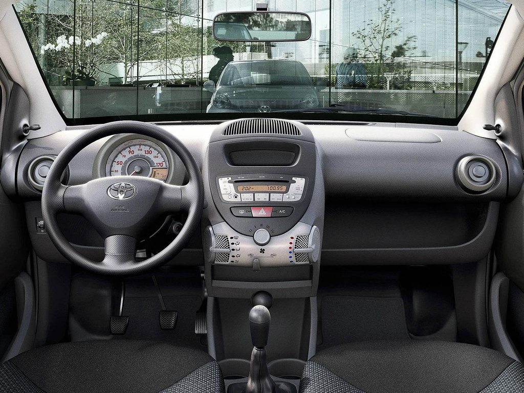 Toyota Aygo 2010 Interior | Toyota Motor Europe | Flickr