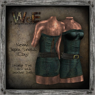 Nomi-Jean-Dress-(Clay) | by :. WoE .: