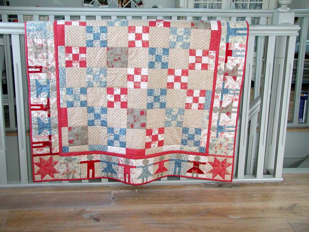 Hopscotch Quilt Pattern Blogged At Livsswedishhomeblo Flickr