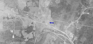 Hi-Way 6 Drive-In aerial photo 1964 | by OzonerGPS