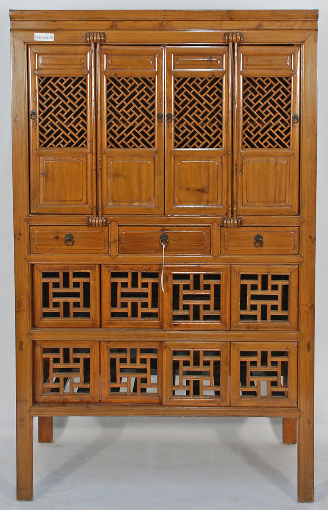 Bk0008y Antique Chinese Kitchen Cabinet A Stunning