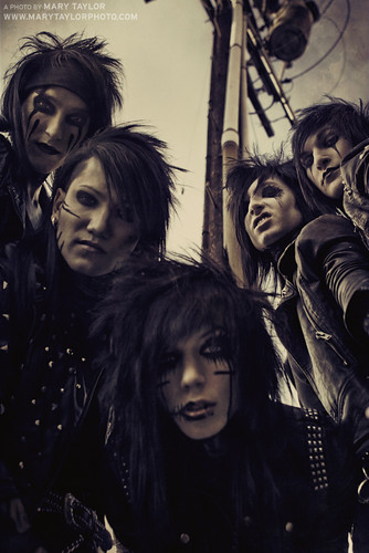 BLACK VEIL BRIDES | by themarytaylor