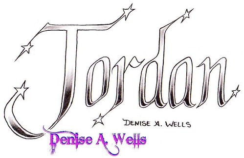 Jordan Name Tattoo Designs