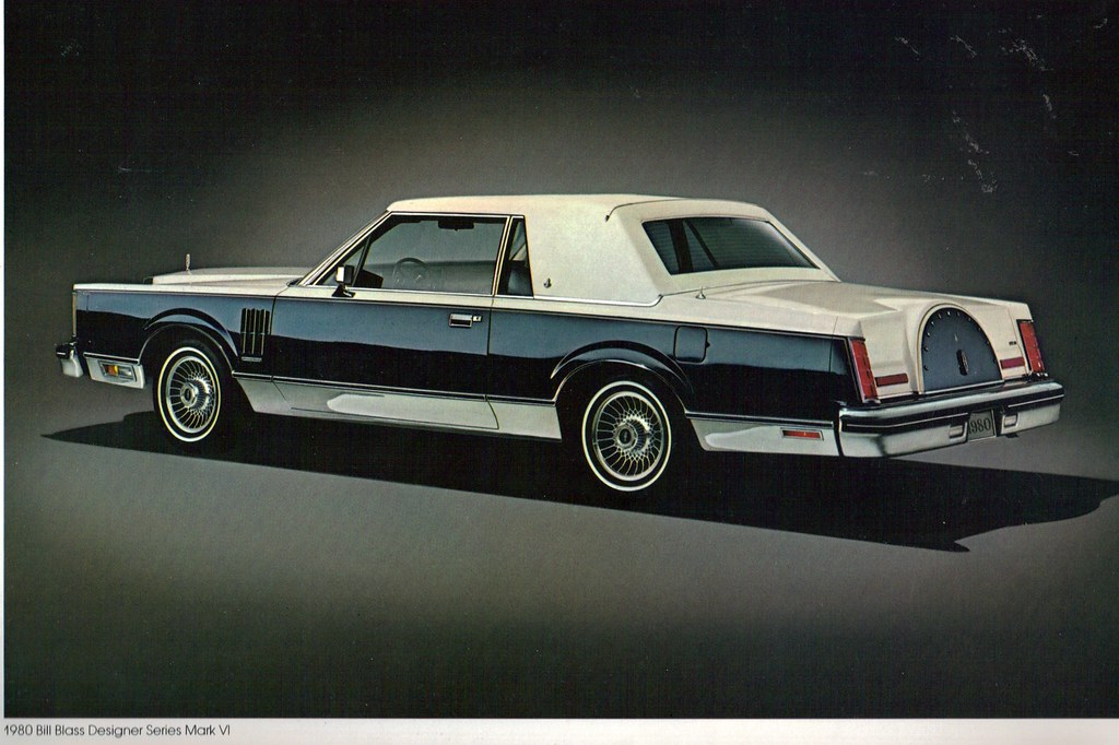 1980 Lincoln Continental Mark Vi Bill Blass Coupe Coconv