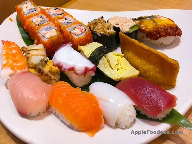 Kirishima - 18 pieces seafood sushi