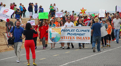 Staten Island Climate March