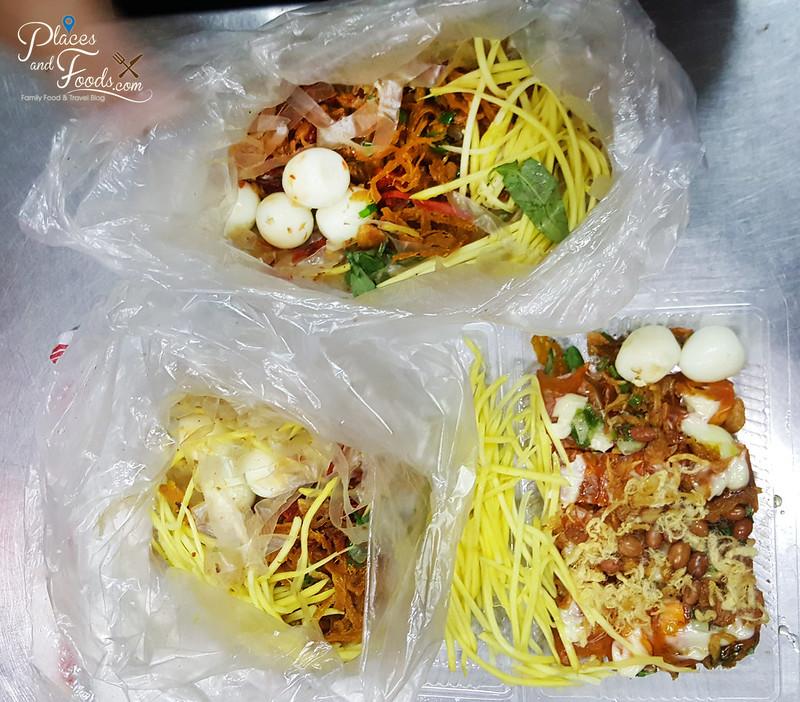 ho chi minh food on wheels Bánh Tráng Trộn